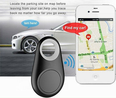 1Pc Mini Smart Bluetooth GPS Locator Tag Alarm Tracker Kid Pet Car Finder Tracer
