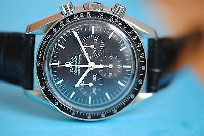 OMEGA SPEEDMASTER  Monduhr First watch on the moon  Ref 1450022 Cal 1861