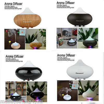 Essential LED Oil Aroma Diffuser Ultrasonic Air Humidifier Purifier Aromatherapy
