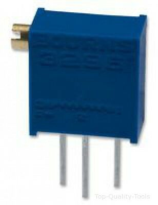 Trimmer Potentiometer, 500 ohm, 500 mW, ± 10%, Trimpot 3296 Series, 25 Turns, Th
