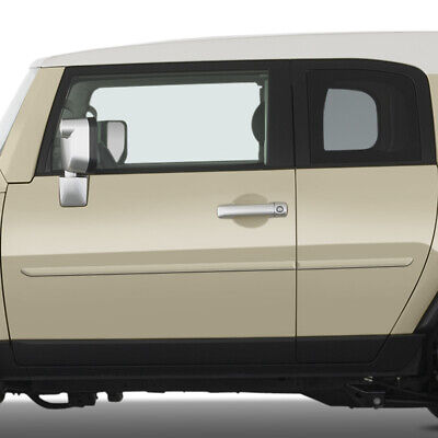 For: TOYOTA FJ CRUISER; PAINTED Body Side Mouldings Moldings Trim 2007-2014
