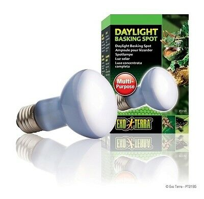 Exo Terra Reptile Daylight Basking spot Bulb 100W Genuine Replacement Lamp