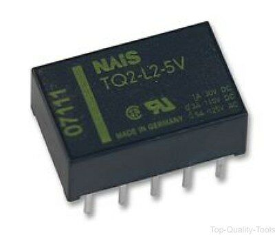 RELAY, PCB, DPCO, LATCHING, Part # TQ2-L2-24VDC