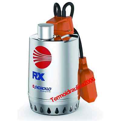 Submersible DRAINAGE Pump clear water RXm5 1,5Hp 230V 50Hz Cable10M RX Pedrollo