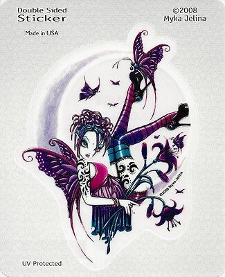 PAIGE FAERY Fairy Sticker Car Decal Myka Jelina goth gothic pagan faerie