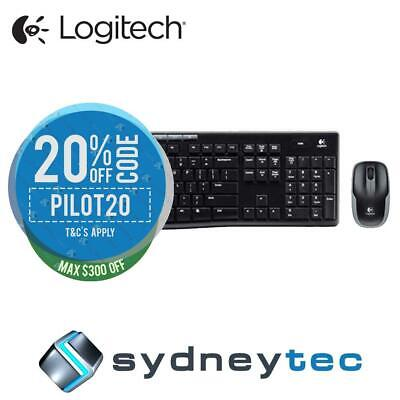 New Logitech MK270R Wireless Keyboard and Mouse Combo