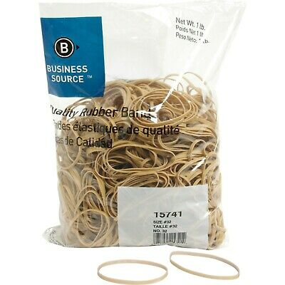 "Rubberbands Size 32  3"" x 1/8"" x 1/32"" Business Source BSN 15741  5 lb"