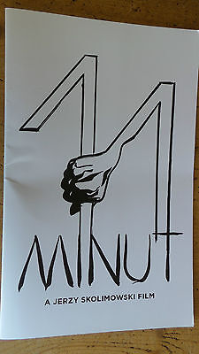 11 Minutes  minut  MOVIE BOOK PRESS KIT FYC FOR YOUR CONSIDERATION