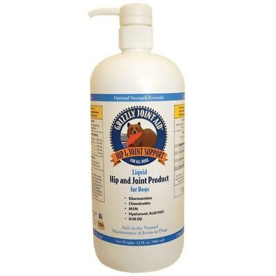 Grizzly Joint Aid Liquid Form for Dogs 32 oz