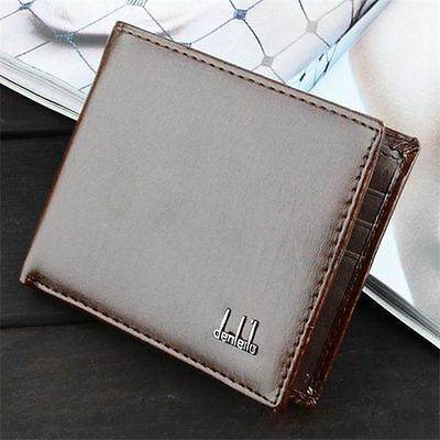 Mens Business Leather Wallet Pocket Card Holder Clutch Bifold Slim Purse casual