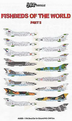 jbr44008/ JBr Decals - MiG-21 MF/bis - Fishbeds of the World - Part II - 1/144