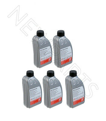 5 Liter Pack ATF Automatic CVT Transmission Oil Fluid for Audi A4 A6 Mini Cooper