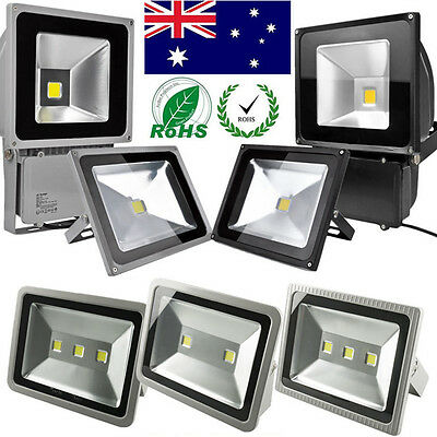 PIR Sensor/Normal LED Flood Light 10W/30W/50W/100W Outdoor Security Garden Lamp