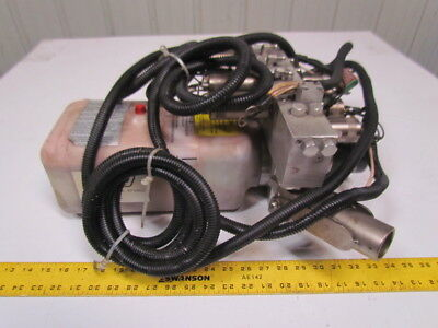 HWH AP40922 Pump motor tank assy for 2K leveling sys w/Harnesses Hyd