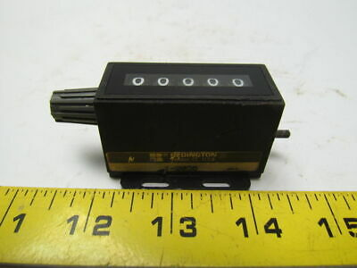 Redington 1-2035 Model 20 Mechanical stroke counter 5 digit righthand top-coming