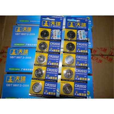 New 5PCS CR2032 DL2032 LM2032 Button Cell Coin Battery for Watch Toys Remote TR5
