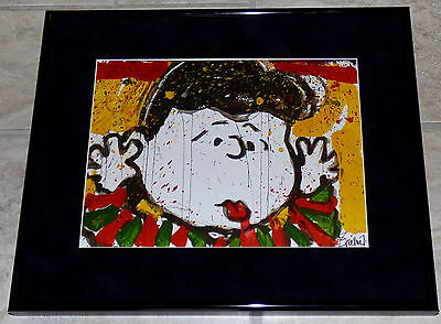 Tom Everhart Lucy No Apologies Framed Print Peanuts Charles Schulz