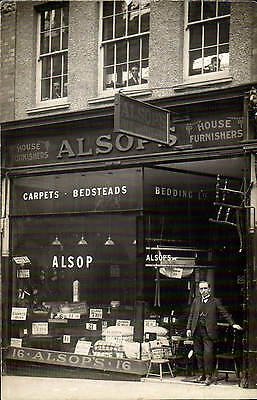 ? Newtown. Alsop's House Furnishers Shop.