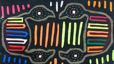 Kuna Hand-Made Mola Panama Art 51294