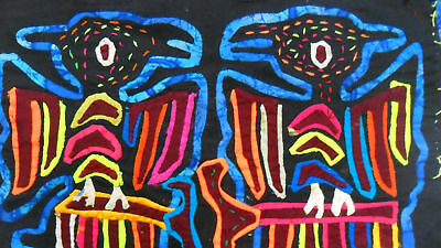 Kuna Hand-Made Mola Panama Art 51257