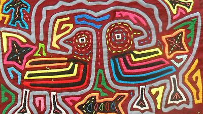 Kuna Hand-Made Mola Panama Art 51093