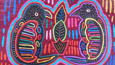 Kuna Hand-Made Mola Panama Art 51092