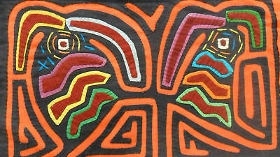 Kuna Hand-Made Mola Panama Art 51083