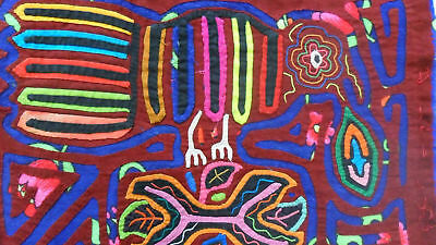 Kuna Hand-Made Mola Panama Art 51066