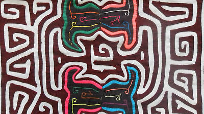Kuna Hand-Made Mola Panama Art 51077