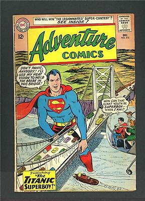 Adventure Comics 315, DC Superboy, VG (4.0)