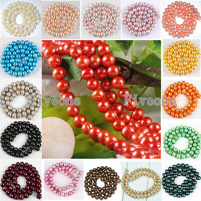 Various High Quality 5-9mm Freshwater Luster Pearl Loose Bead Women Girl Jewelry