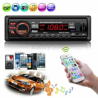 Stereo Auto Bluetooth Autoradio Vivavoce Fm Mp3 Radio Player Aux Usb Sd Mmc Card