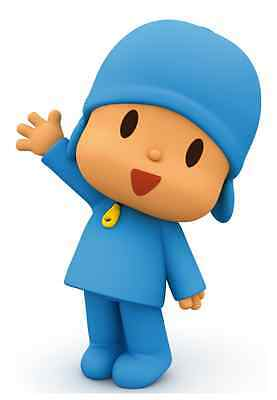"""Pocoyo Iron On Transfer 4.5"""" x 6.5"""" for LIGHT Colored Fabric"""