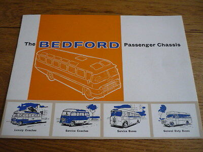 BEDFORD BUS AND COACH CHASSIS SALES BROCHURE jm