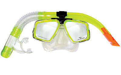 Land & Sea Trinidad Silicone Mask & Snorkel Set - Comfort Fit Mouth Piece