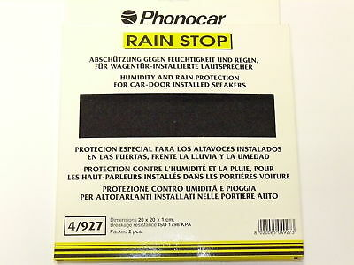 phonocar Rain Top Moisture Protection for Speakers Moisture Protection