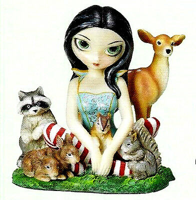 SNOW WHITE & FRIENDS FAERY Fairy Figurine Jasmine Becket-Griffith faerie statue