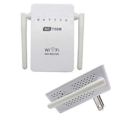 Hot Sale750Mbps Antenna Wifi Repeater Wireless Range Extender 802.11N Booster