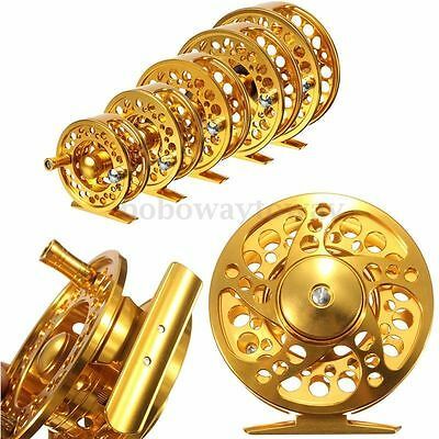 Golden Freefisher Fly Fishing Reel 2+1 BB CNC Aluminum Disk Drag River Trout N