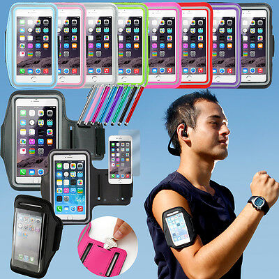 For Apple iPhone 6 6S 7 Plus Sports Running Jogging Armband Case Cover Holder