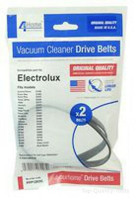 VACUUM BELTS, PACK OF 2, ELECTROLUX Part No. PPP125OQ By 4 YOUR HOME