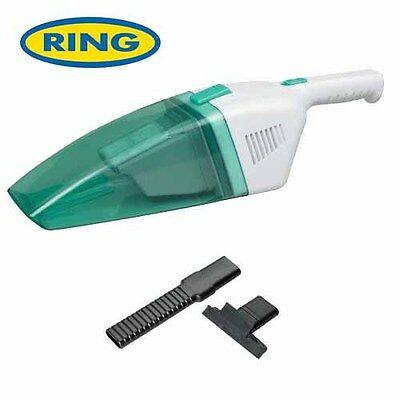 Ring 12V Wet Dry Lightweight Handy Vacuum Cleaner For Car Valeting RVAC200