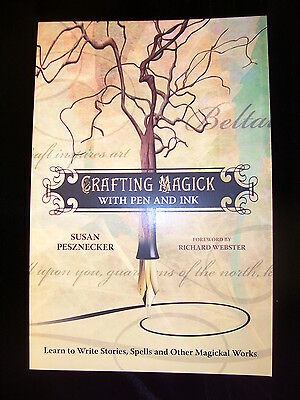 Brand New! Crafting Magick With Pen & Ink Wicca Pagan Create Beautiful Words