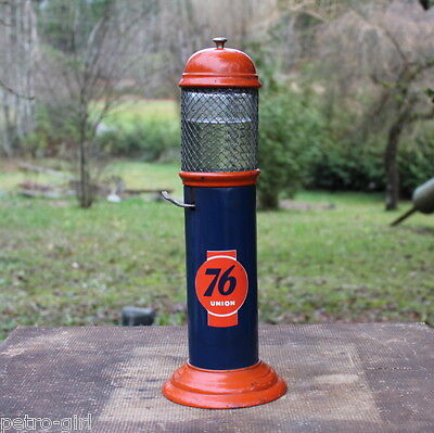 Vintage 1930's Union 76 Coin Operated Visible Gas Pump Lighter Fluid Dispenser