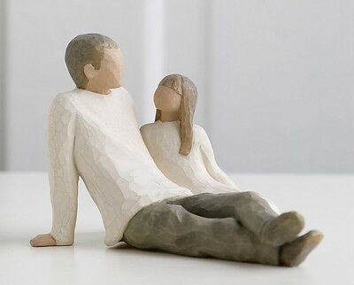 Willow Tree Figurine - Father and Daughter, 26031 - Perfect Father's Day Gift!