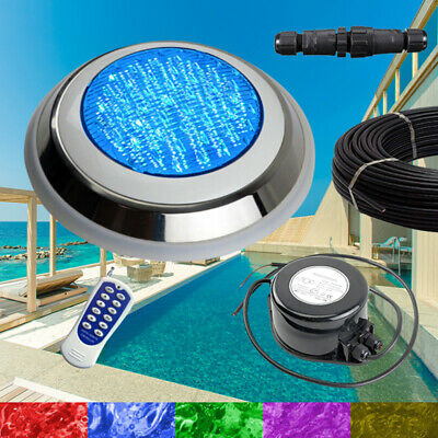 Swimming Pool LED Lights RGB + Controller + Power + Cable - 2 Wire Very Bright