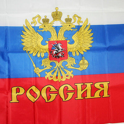 Russia President flag Indoor Outdoor russian country flags polyester 3x5ft CCCP