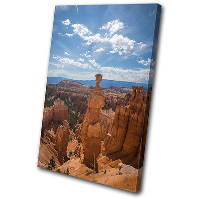 Grand Canyon Aerial Landscapes SINGLE CANVAS WALL ART Picture Print