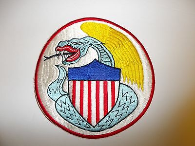 b8978 US Navy Korea VF 123 Fighter Squadron Blue Racers second version ir28f