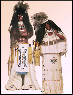 Dolls Native American Dolls private Collection Was £2995.00